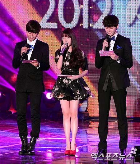 Kwanghee, IU, Lee Jong Suk