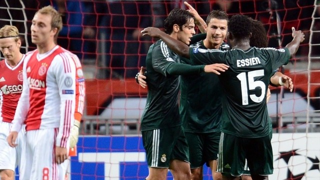 Hasil dan Cuplikan Video Highlight Ajak vs Real Madrid
