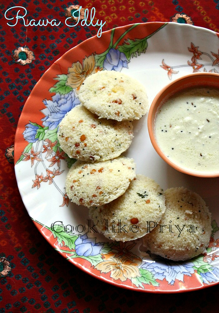 Indian food recipes indian recipes desi food desi recipes instant rava idly recipe sooji idly quick breakfast recipe forumfinder Images