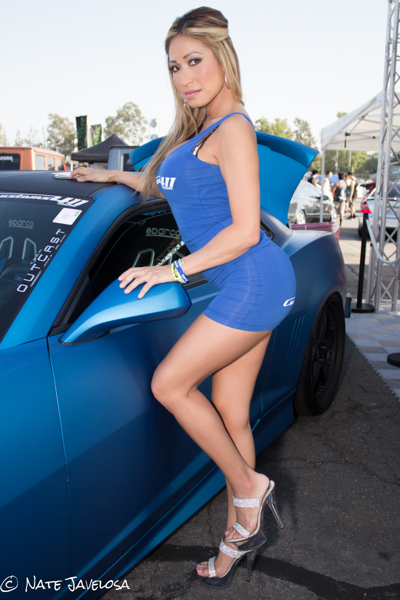 Nate Javelosa: Extreme Autofest Anaheim 2013: The Diamond Dozen Models for Customs 411
