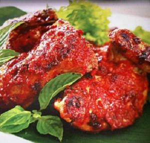 resep membuat masakan ayam panggang bumbu pedas