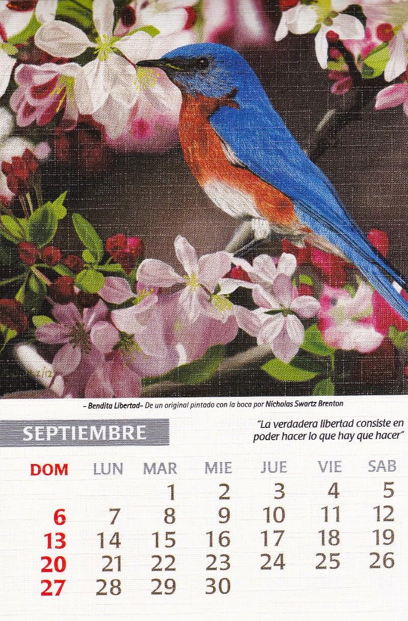 calendario 2015 septiembre