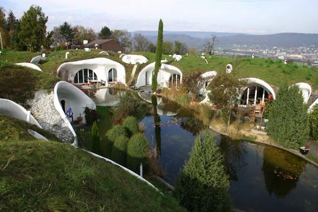 Дом-землянка