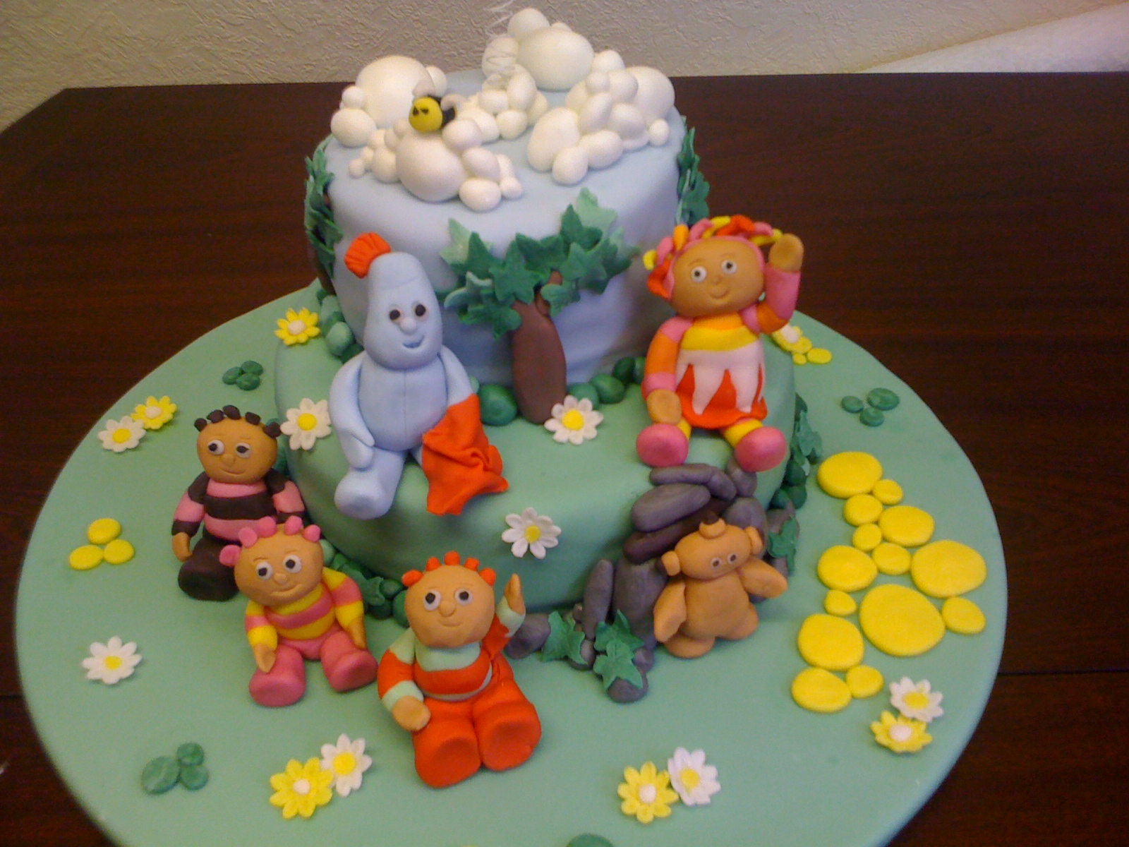 North west nosh custom cakes from andrew nuttall for In the night garden cakes designs