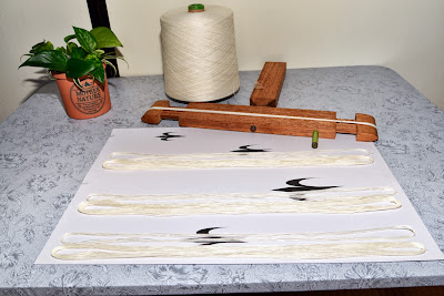 琉球絣手寄法の枷作り