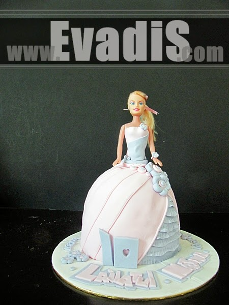 Fullbody Barbie Cake Picture