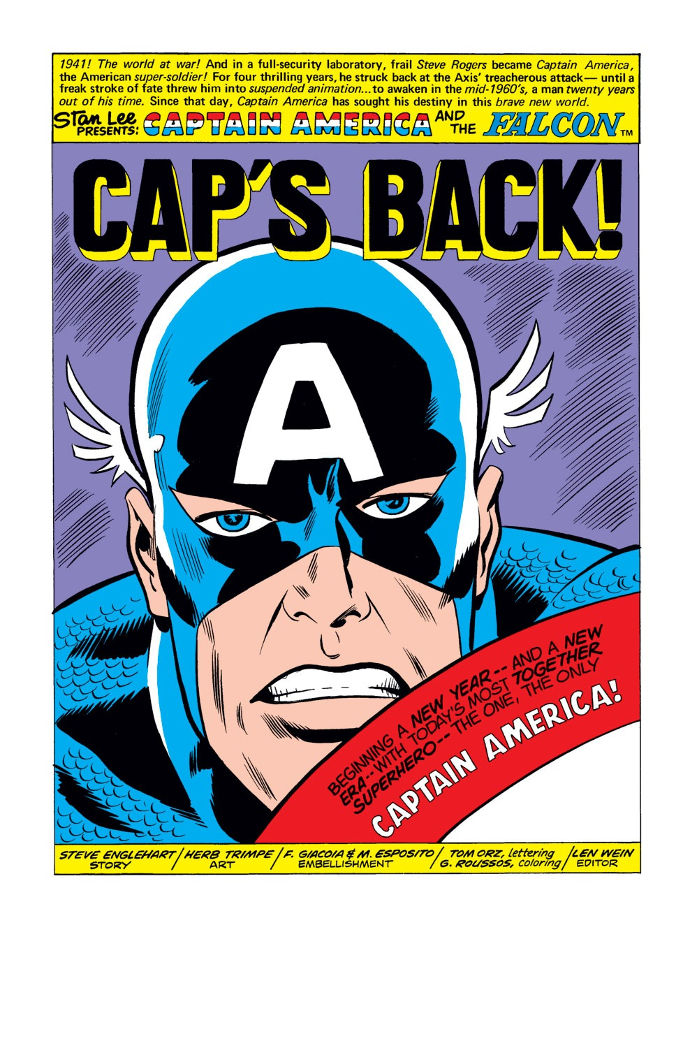 Captain America (1968) Issue #184 #98 - English 2