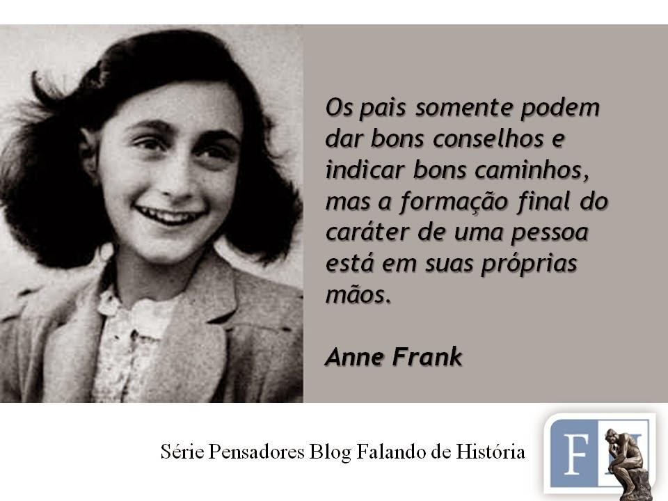 Tag Diário De Anne Frank Trechos Do Livro