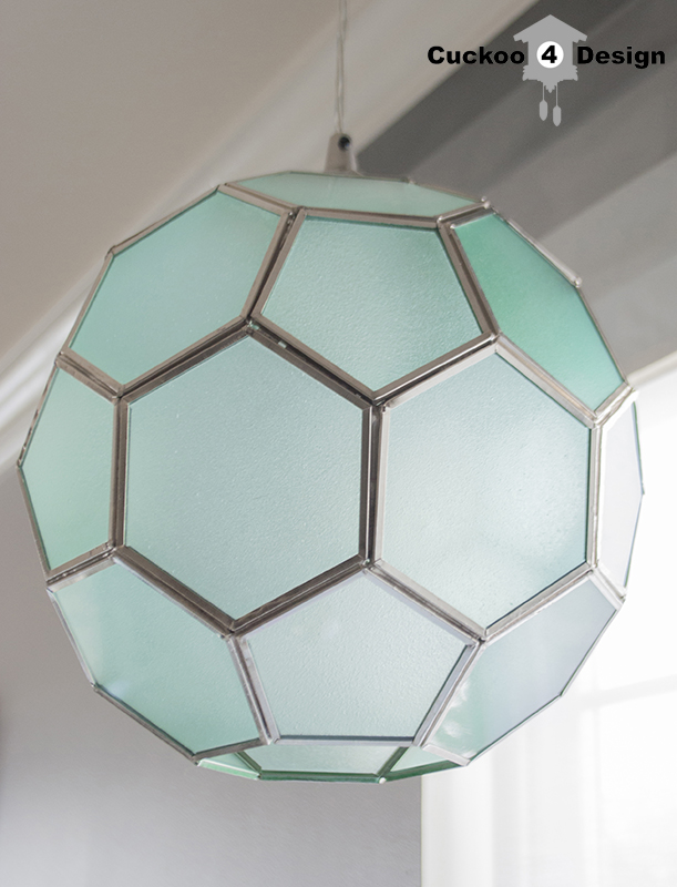 honeycomb light pendant