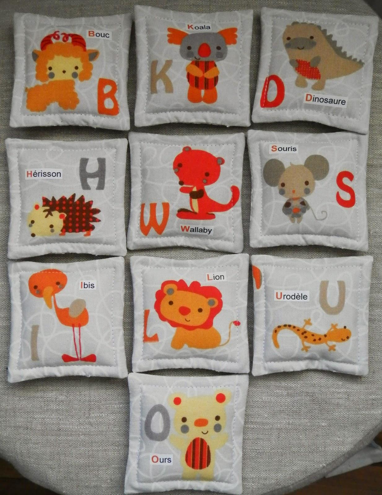 Coton et Création : jeu de memory