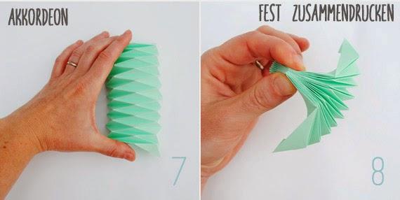 Vase basteln: Mit Papier falten