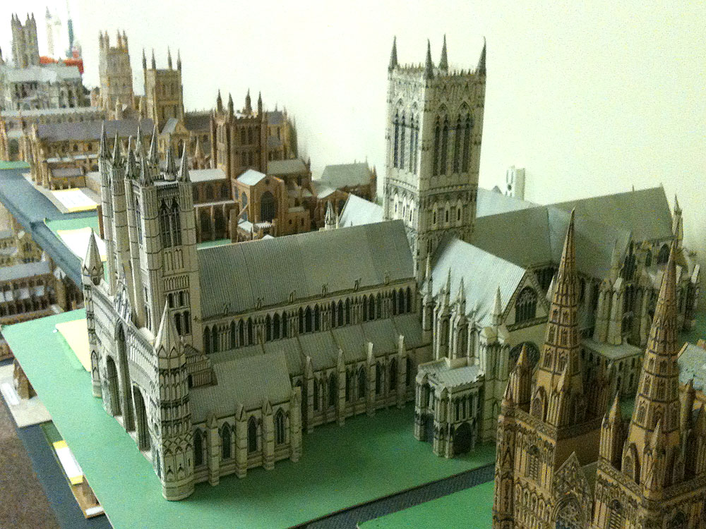 Famous buildings of the world in miniature megamag 2 for Miniature architecture