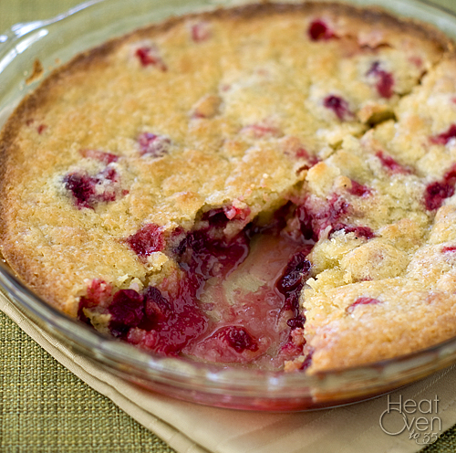Nantucket Cranberry Pie ~ Heat Oven to 350