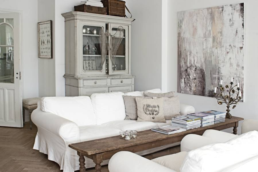 country style chic scandinavian chic