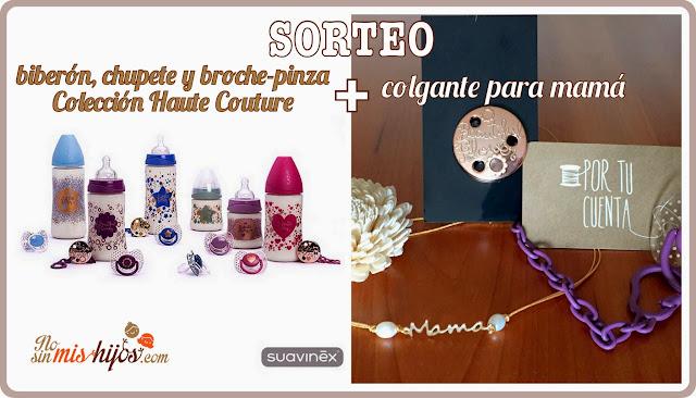 Sorteo colección Haute Couture de Suavinex + colgante para mamá