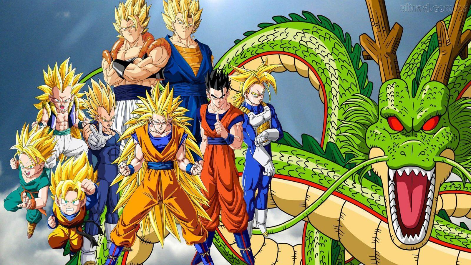 Dragon Ball Z - Papéis de parede