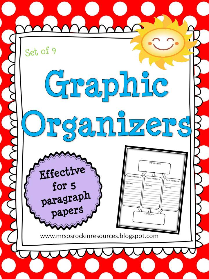 five-paragraph essay graphic organizers