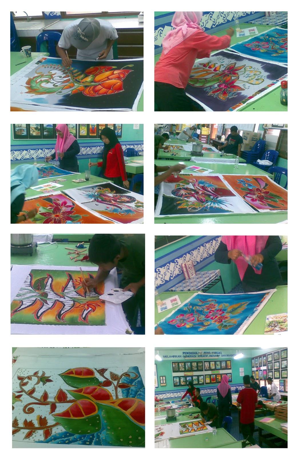Projek KRSV SPM - Batik Hiasan Dinding