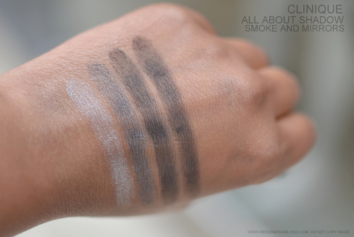 Clinique All About Eyeshadow Quad Indian Darker Skin Beauty New Makeup Blog Photos Swatches Smoke and Mirrors 09