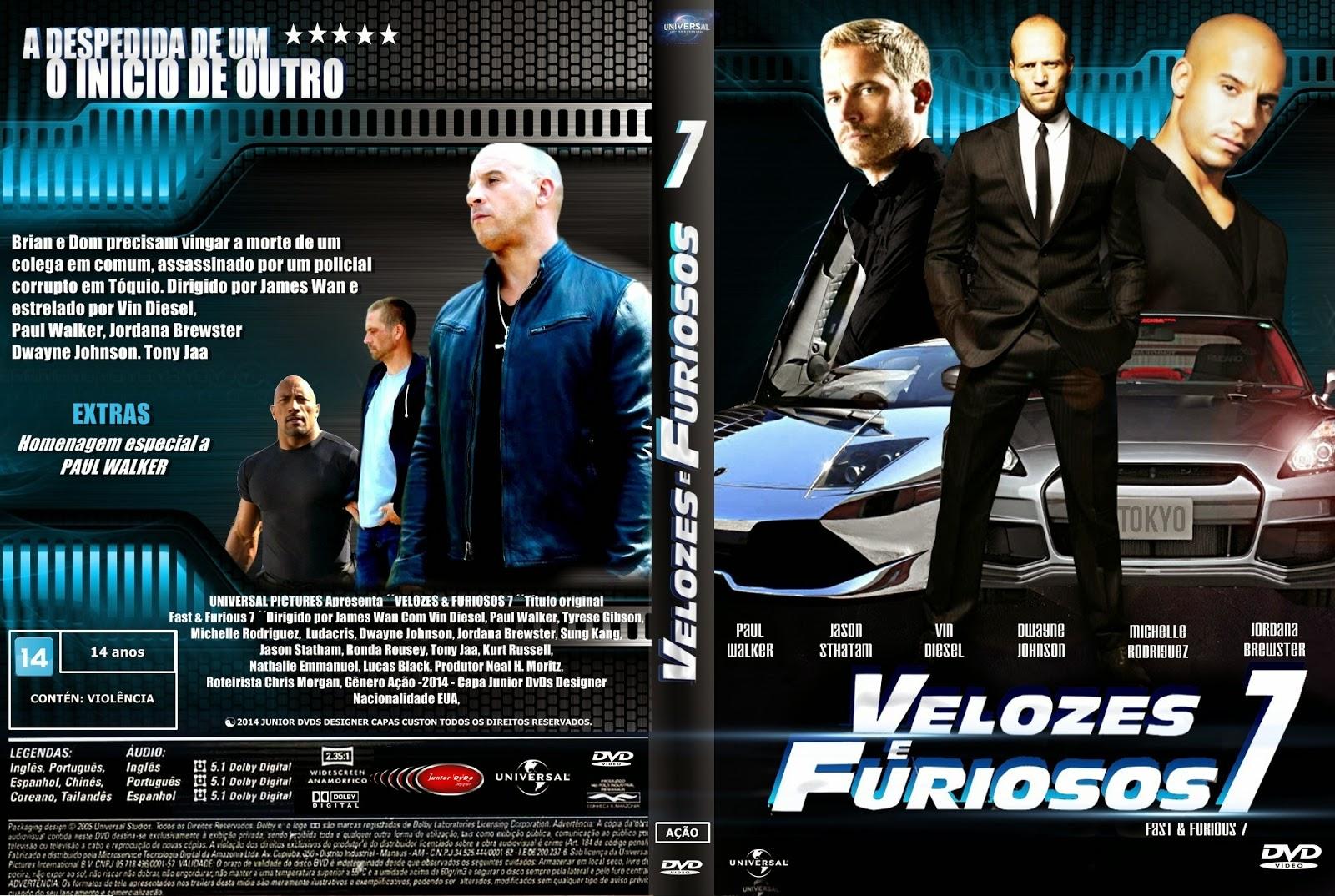 Download Velozes e Furiosos 7 HDTS XviD Dual Áudio CAPA DO FILME  VELOZES E FURIOSOS 7