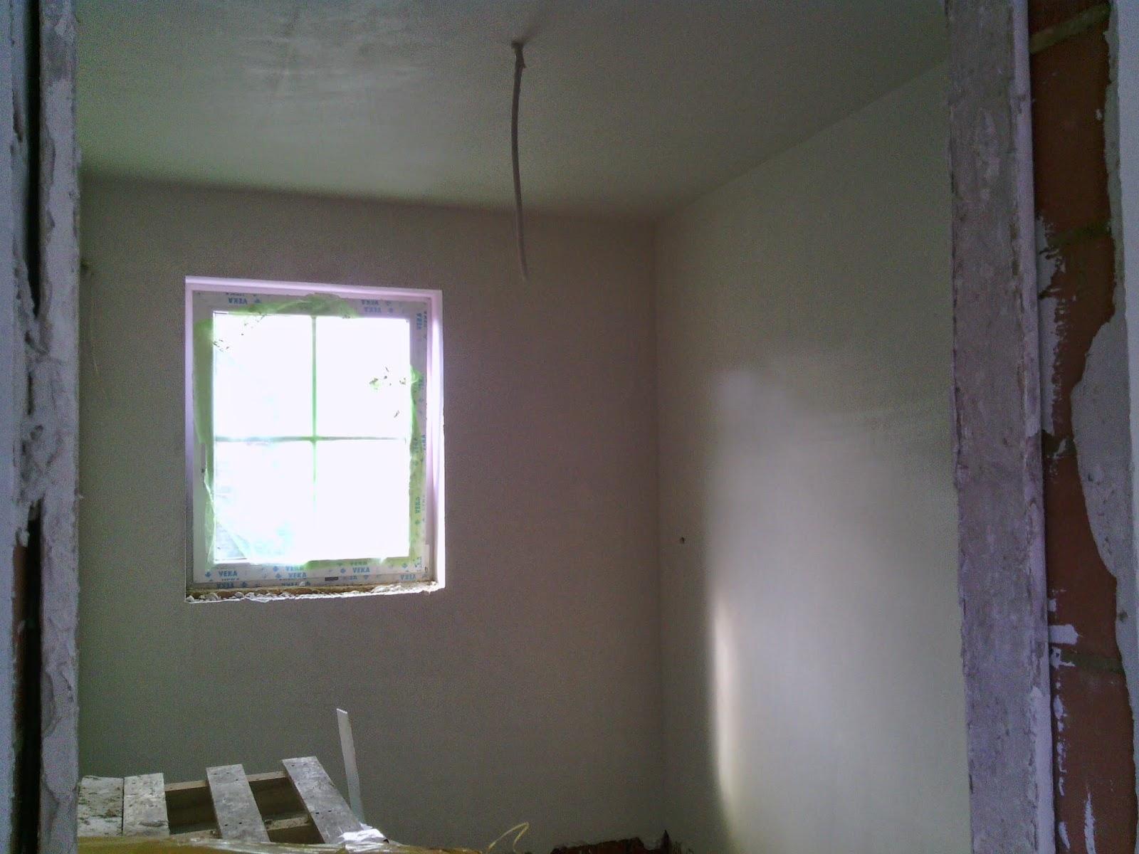 La construction de notre maison par t palm plafonnage for Plafonnage mur exterieur