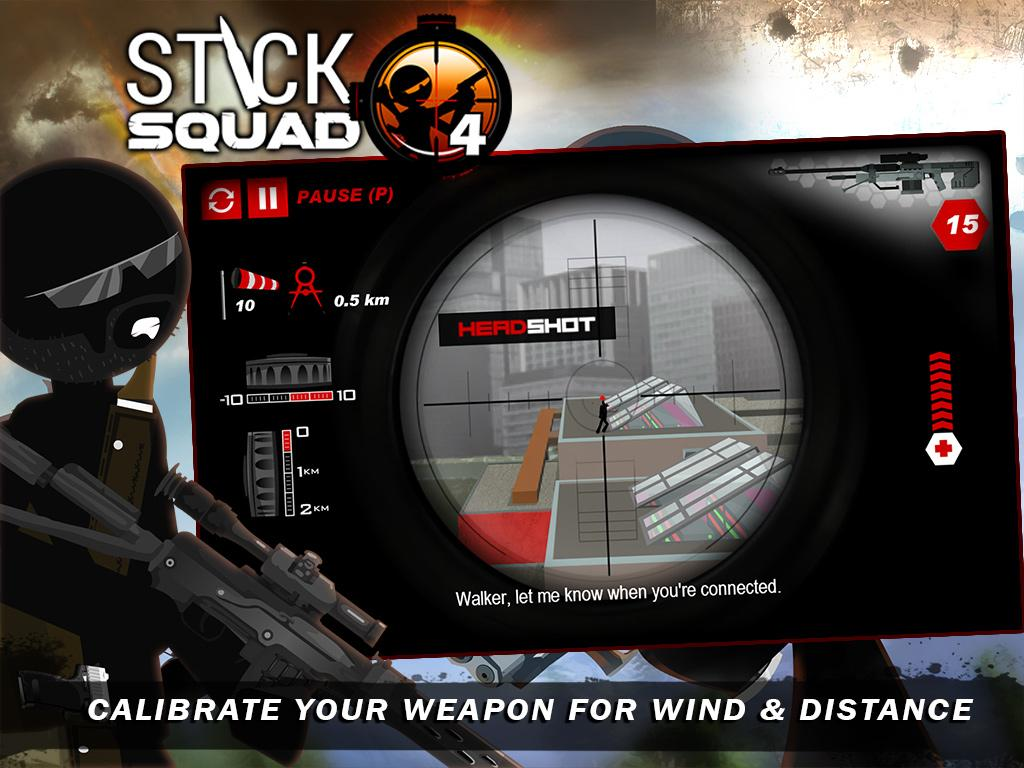 Stick Squad 4 Gameplay IOS / Android