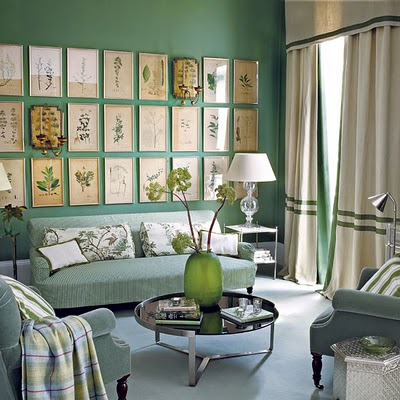 Decorate Living Room Walls on Modern Furniture  Decorating Living Room With Mint Green 2013 Color
