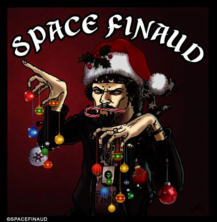 Joyeux Noël, Merry Christmas, Space Finaud, Blog, 2014