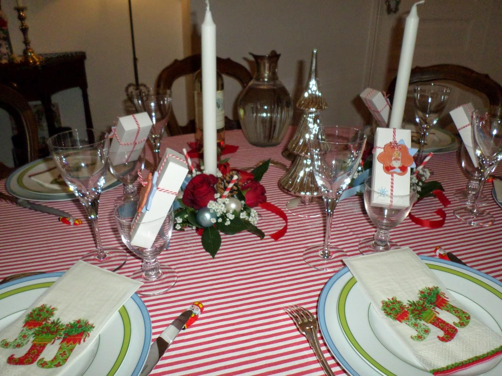 #9D2E3A Bleu Rouge Et Vert : Une Table De St Nicolas Aux Couleurs  6183 decoration de table de noel en rouge et vert 1600x1200 px @ aertt.com