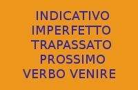 INDICATIVO IMPERFETTO E TRAPASSATO PROSSIMO DEL VERBO VENIRE