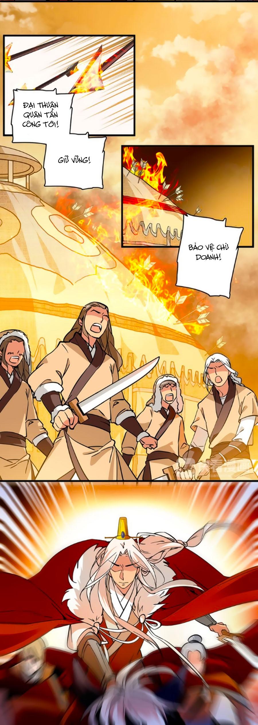 Hoàng Thượng! Hãy Sủng Ái Ta Đi! Chap 39
