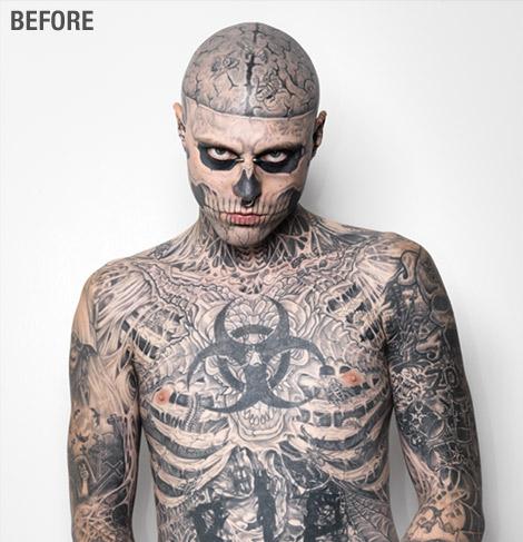 Tattooed Makeup
