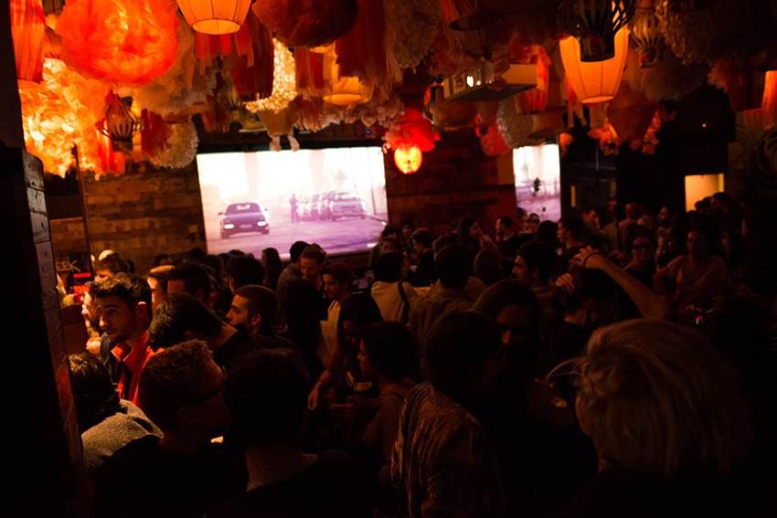the petticoat urban outfitters generator hostels barcelona opening  after party