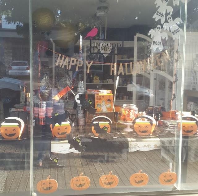 BAD NEWS - Our Halloween Window