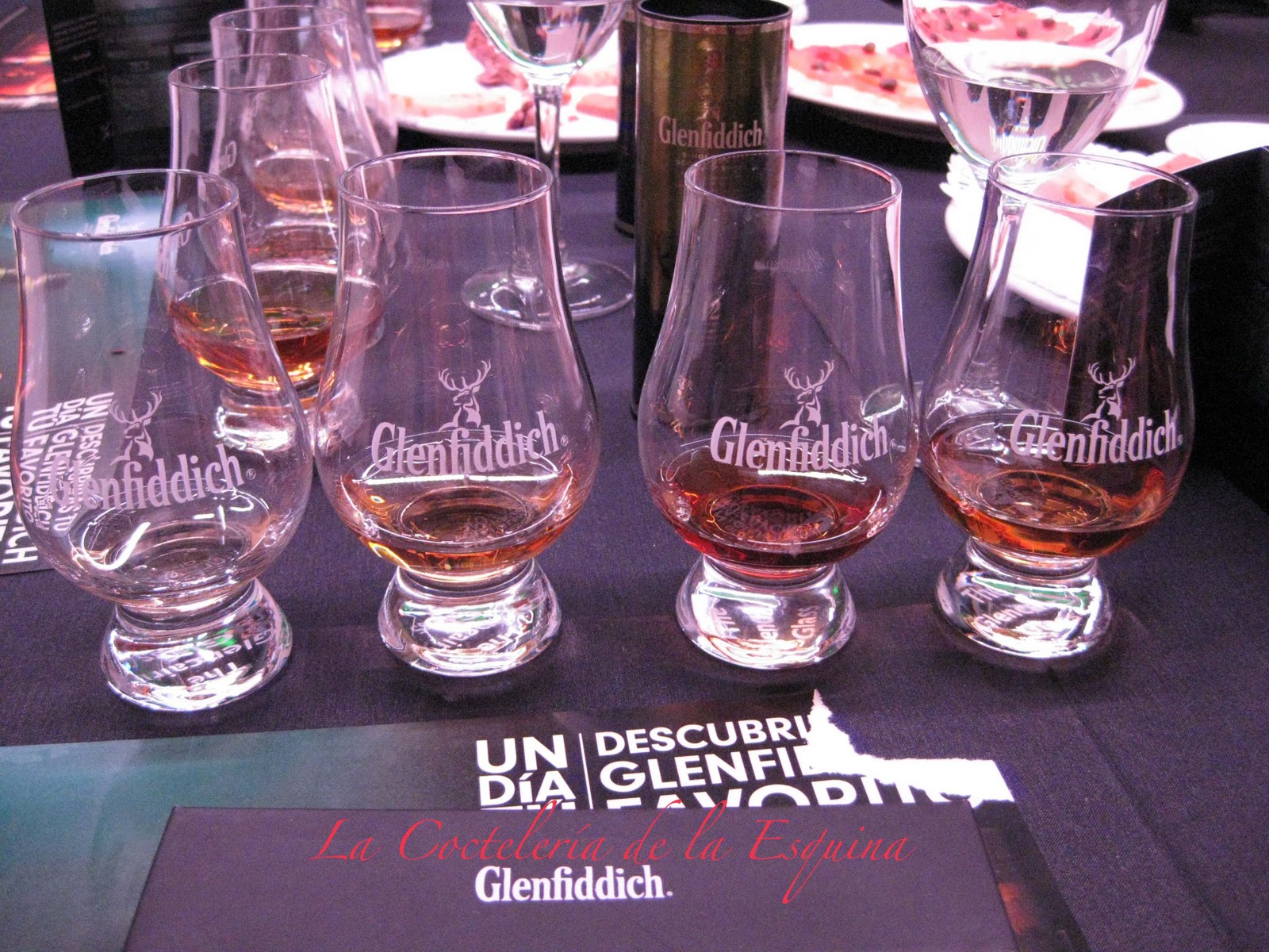 La cocteler a de la esquina cata interactiva de for Copas para whisky