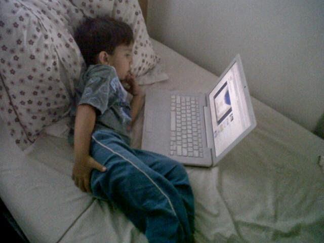 Eduardo - 7 anos - Filho da Renata Santos
