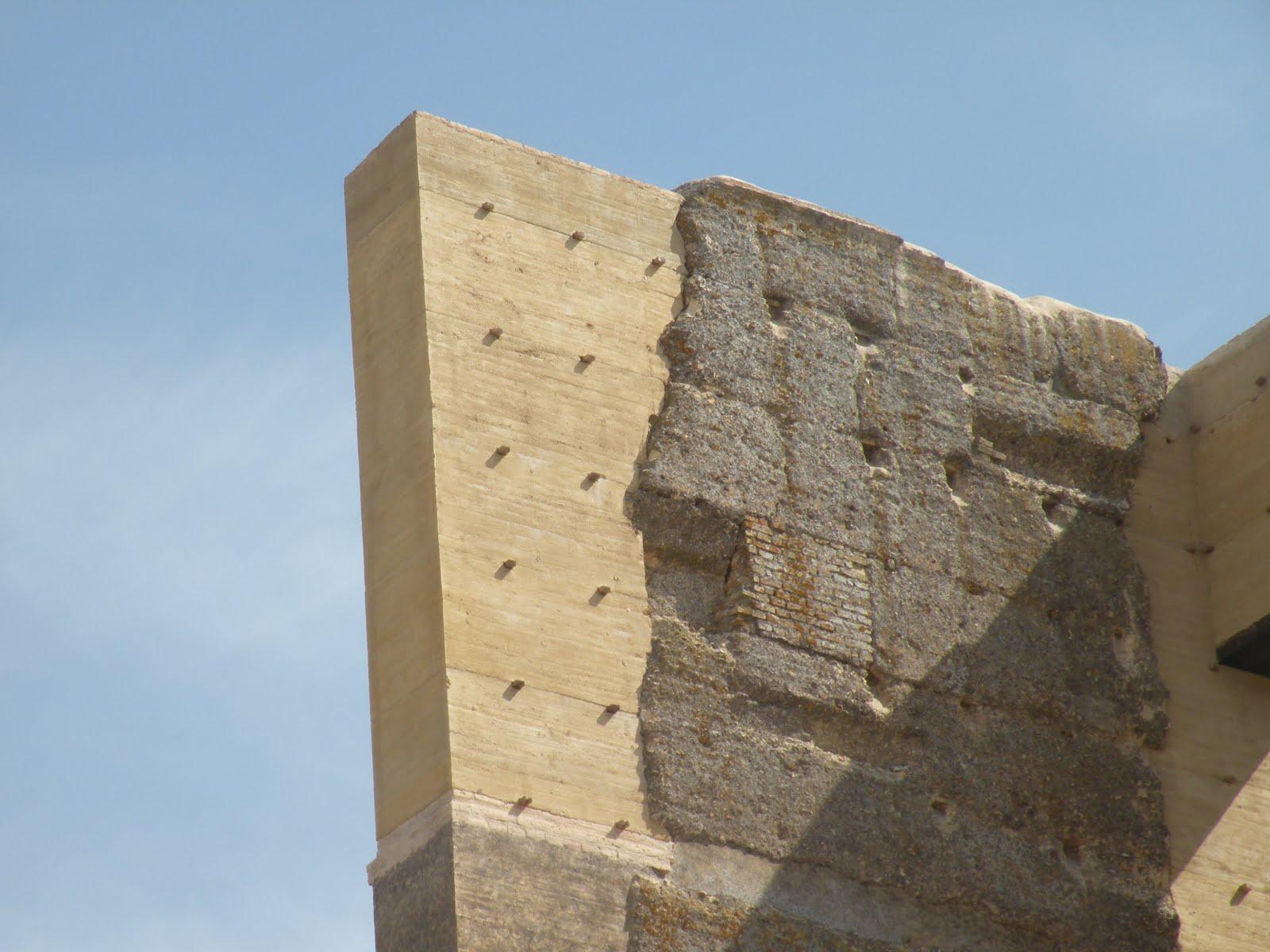 Album de imágenes de intervenciones sobre edificaciones de tapia