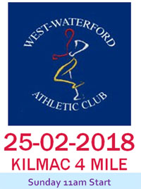 Kilmacthomas 4 mile, Waterford...Sun 25th Feb