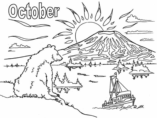 tlingit totem poles coloring pages - photo#30