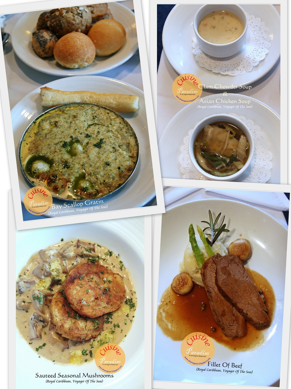 Voyager Of The Seas Royal Caribbean International Part Ii Dining Options Recipe Recipes