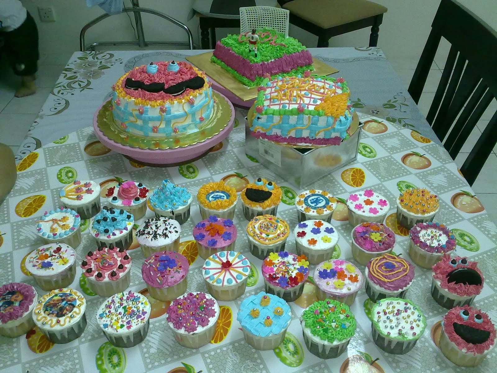 mama chocolicious kelas deco kek dan kek cawan