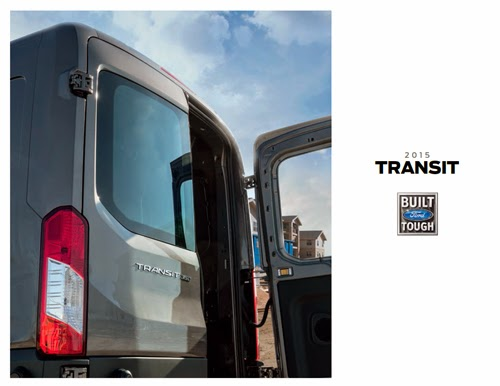 2015 Ford Transit Brochure Cover