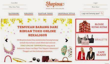 Online Mall Terpercaya Shopious