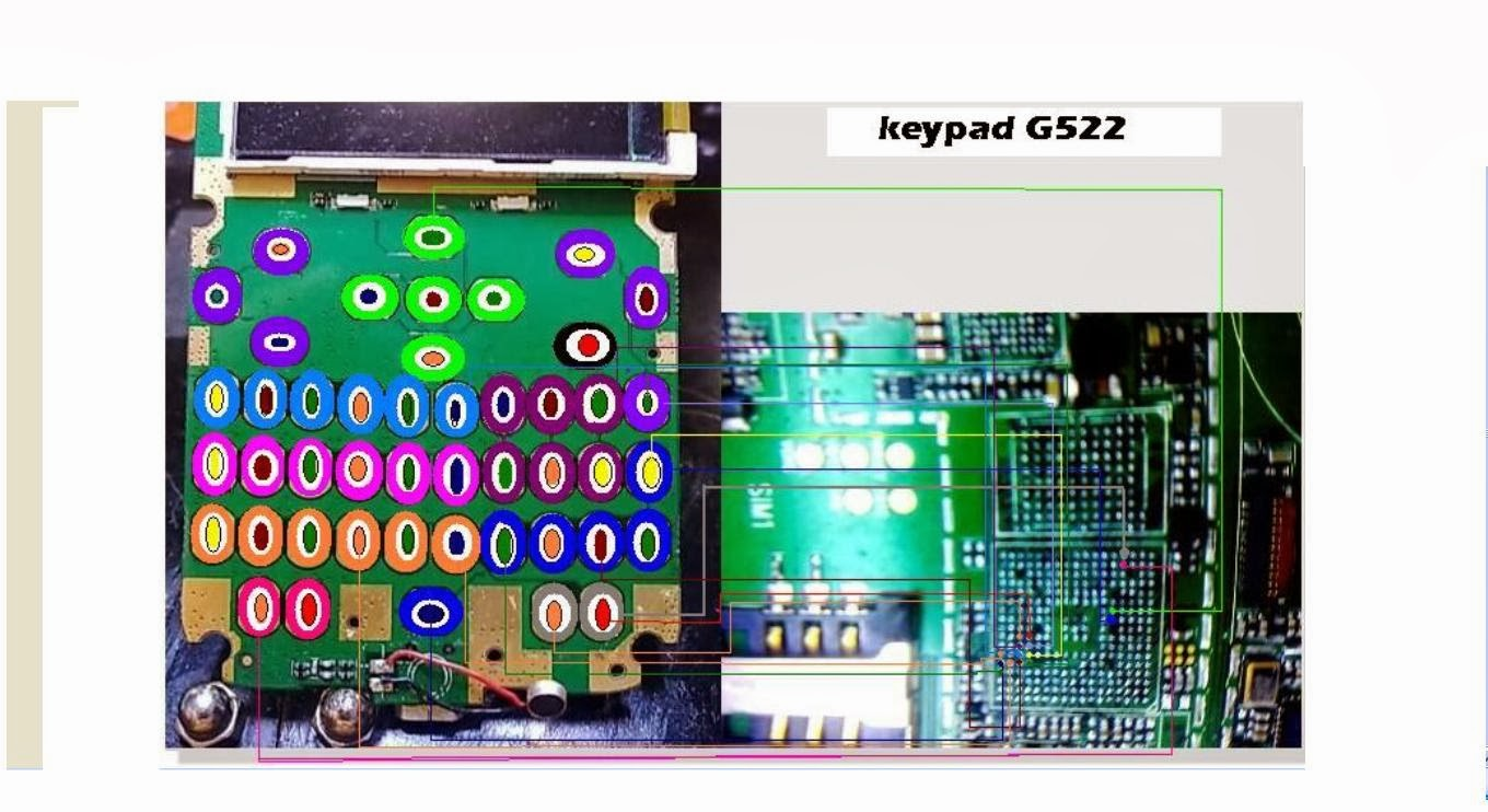 Samsung young 2 sm g130h power on off key jumper track ways - Jalur Keypad Nexian G522