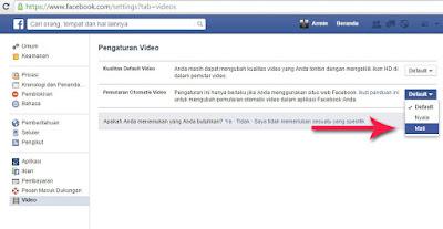 cara matikan video otomatis autoplay facebook 3