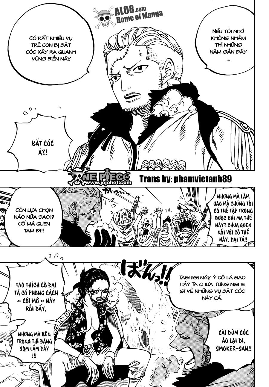 One Piece Chapter 664: Master Caesar Clown 002