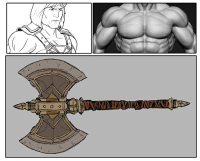 MondoCon 2015 First Look: Masters of the Universe 1/6 Scale Collectible Action Figure - He-Man