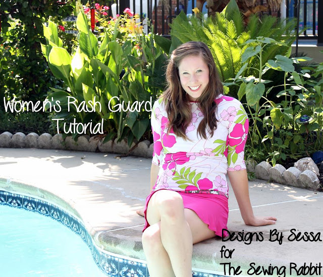 Rash Guard Sewing Tutorial