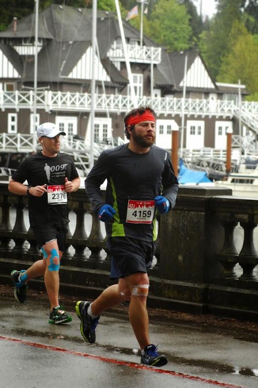 Running Stanley Park Vancouver Marathon 2014