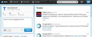 Tweet en Twitter ayuda twitter